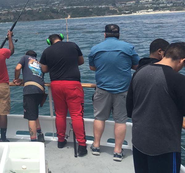 Olive Crest, kids, fishing, event