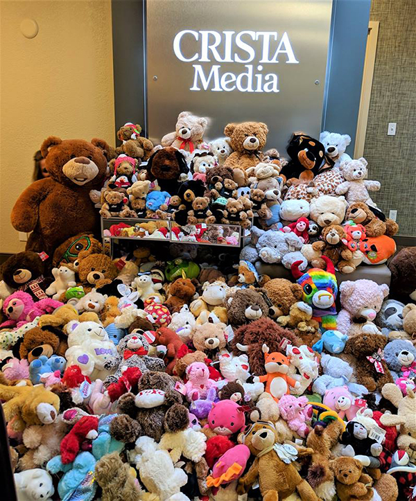 Teddy Bears Take Over a Soccer Game…All to Comfort Foster Children in the Pacific Northwest