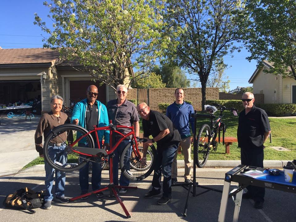Inland Empire Teens Get New Bikes…Just in Time for Tour de France!