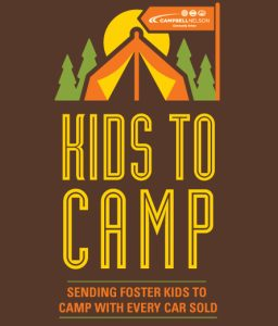 Campbell Nelson in the Pacific Northwest is Helping Kids Go to Camp!