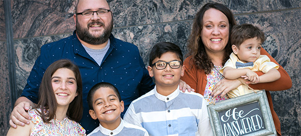 A Strong Family Transforms Six Precious Lives
