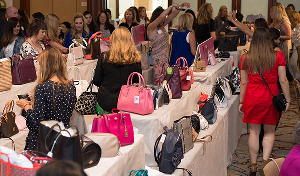 "Hundreds ""Pick a Purse"" and Help Stop Child Abuse"